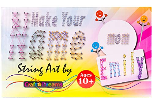 Make Your Name String Art Kit