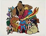 Hanna-Barbera Superheroes Original Model Cel Animation Art Autographed/Signed by Bob Singer