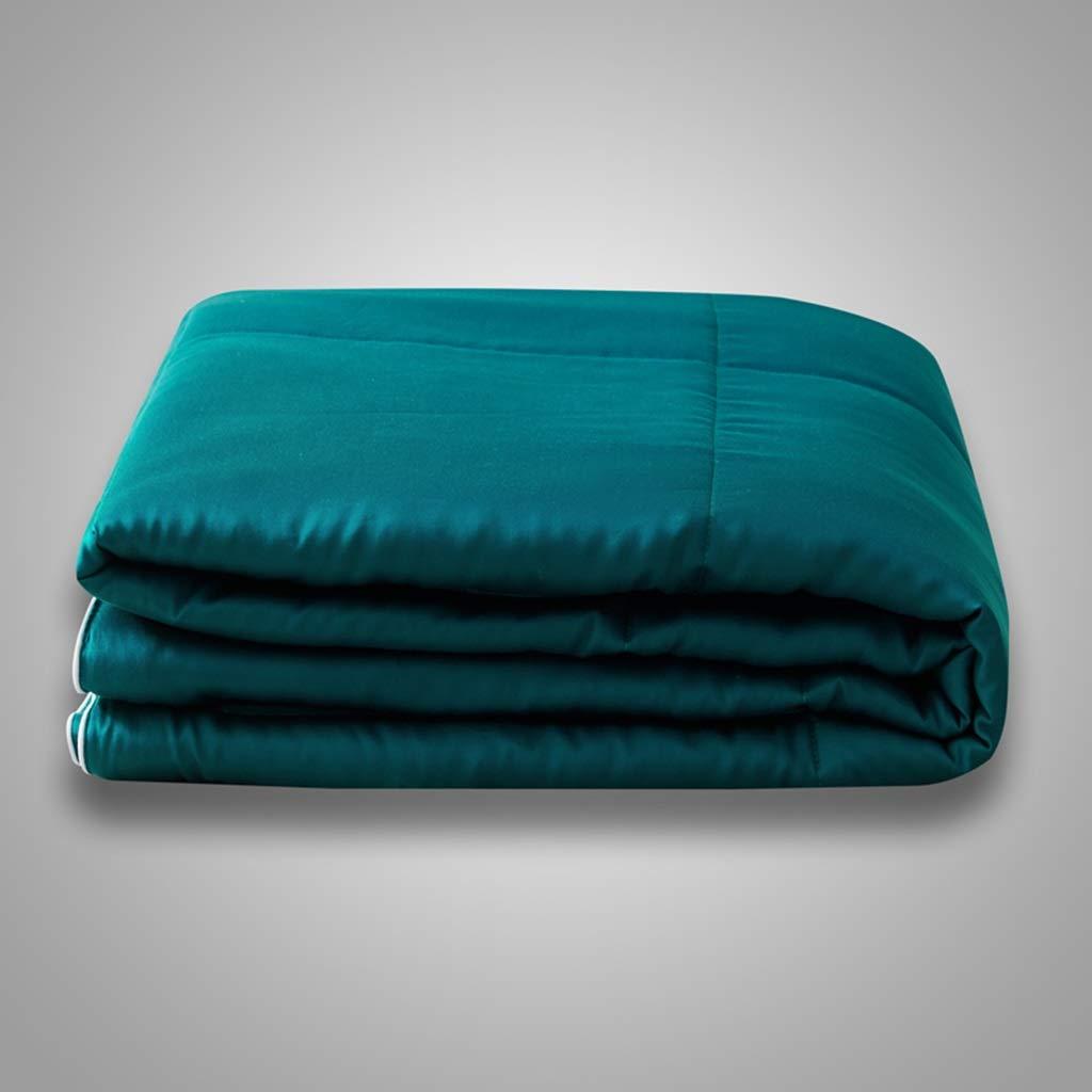 シンテンセルベッドキルトライトエアコンキルトクールツイン掛け布団オールシーズンスーパーソフトマイクロファイバー冷却ブランケットクイーン(7色使用可能) (Color : Blue, Size : 220*240cm) B07TFJ9ZQ2 Blue 220*240cm