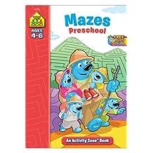 Mazes Preschool: Activity Zone Workbooks