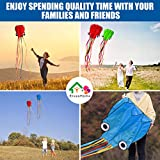 Octopus Kite 3 PACK Kites for Adults Easy To