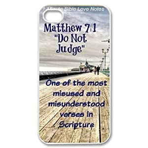 bible verse Case For iPhone 4/4s White Nuktoe619422 by ruishername