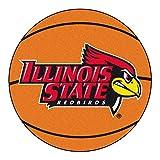 NCAA Illinois State University Redbirds Basketball Shaped Mat Area Rug