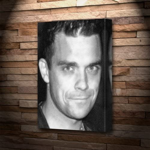 ROBBIE WILLIAMS GIANT WALL ART PRINT POSTER