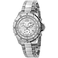Invicta Men's 6620 II Collection Chronograph Stainless Steel Silver Dial Watch