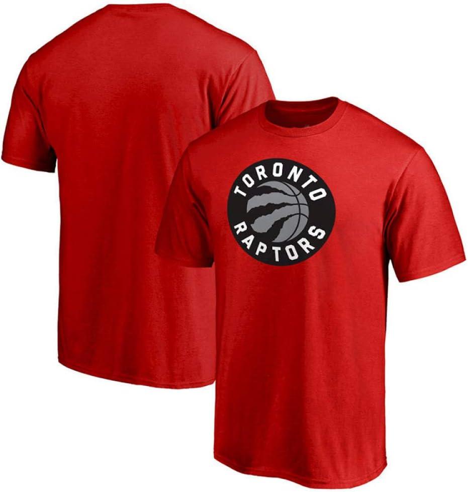 Top Sportif T-shirt /à Manches Courtes Maillot MVA Raptors De Toronto Kawhi Leonard Casual Letters