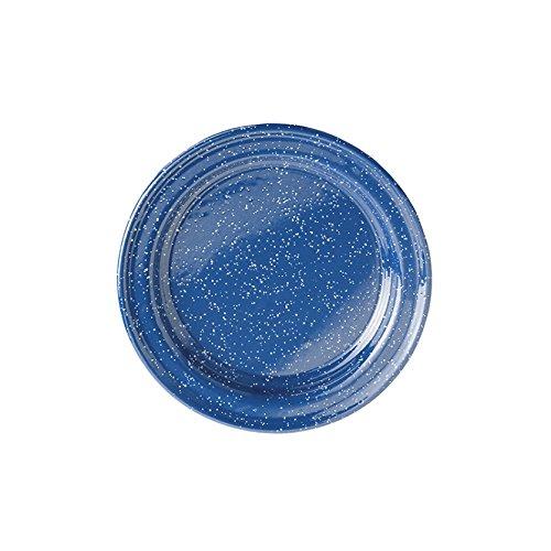 GSI Outdoors 11522 11522 Enamelware Plate, Blue, 8.75