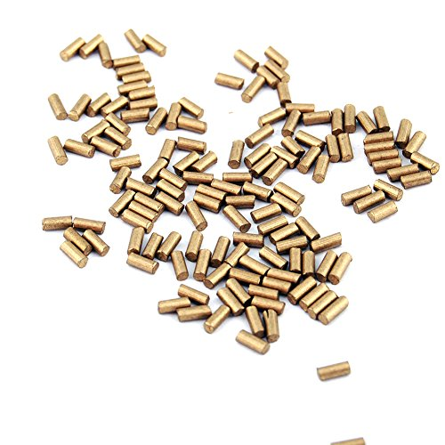 CooBigo (2.25mm) 60g/Pack(Approx450~500pcs) Ferrocerium Lighter Flint Stone for Petrol or Gas Lighters Accessories #FLQ178-B/G (Golden)
