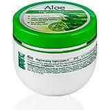 Crema da notte idratante per pelle normale e secca, Aloe Vera.