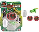 Dino Mecard Tinysour PSITTACO Tiny Dinosaur Toy Green Color Psittacosaurus Figure Egg Capsule Storage Shooting from Any Capture Car