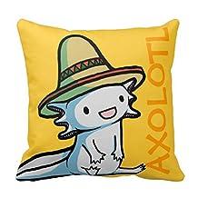 Mexican Axolotl Pillow Case