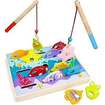 Amazon.com: Lakeshore Magnetic Fishing Set: Toys & Games