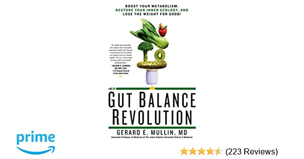 the gut balance revolution boost your metabolism restore your inner ecology and lose the weight for good