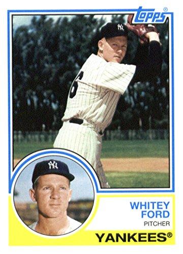 2015 Topps Archives Baseball Card #253 Whitey Ford NM-MT (Baseball Ford Whitey)