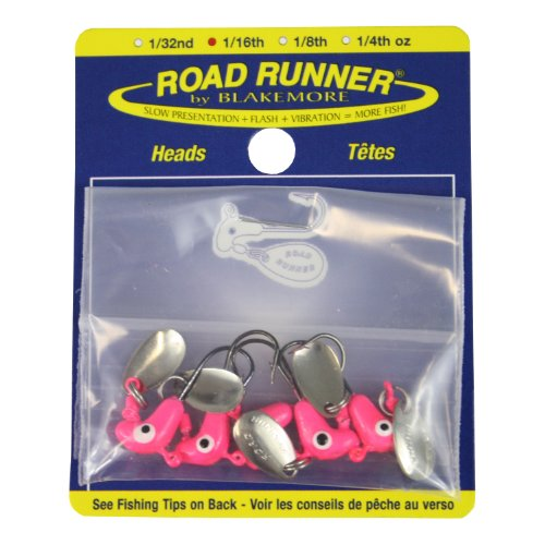 (Blakemore TTI Fishing Co Road Runner Bulk Head Hook (Pink,)