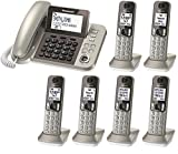 Panasonic Kx Tgf353n Best Deals - Panasonic KX-TGF353N plus three KX-TGFA30N handsets DECT 6.0 Plus Corded / Cordless 6-Handset Landline Telephone System (KX-TGF353N+3, KX-TGF352N+4, KX-TGF350N+5) (Certified Refurbished)