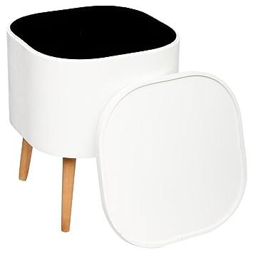 Beistelltisch mit stauraum  2 in 1: Beistelltisch + Kiste mit Stauraum – skandinavischer Stil ...