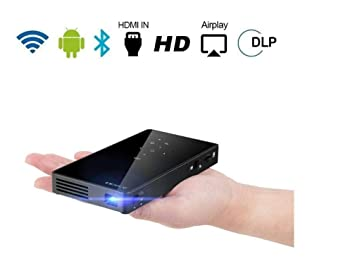 Proyector Inteligente DLP HD 1080p Proyector Pico Android WiFi ...
