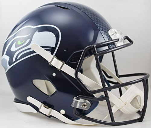 NFL Seattle Seahawks Speed Authentic Helmet -