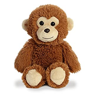 "Aurora - Cuddly Friends - 8"" Monkey, Brown"