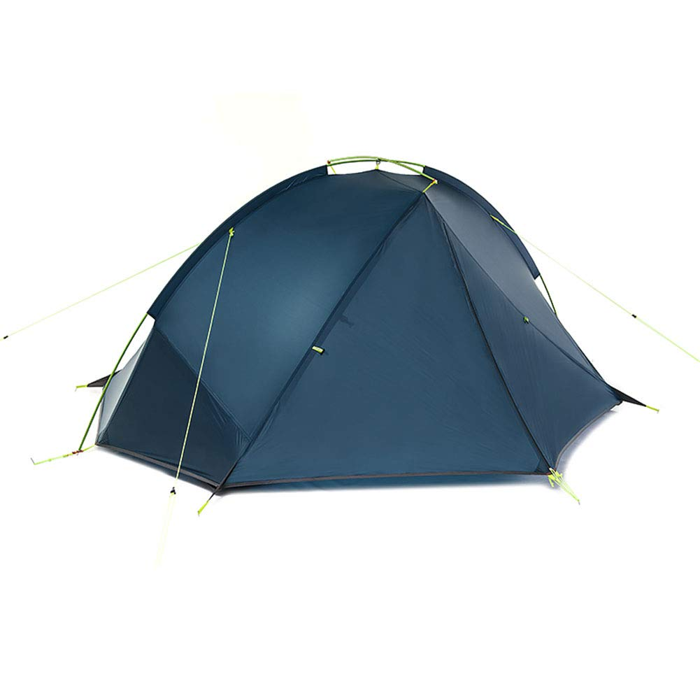 Yuhong Zelt, Ultralight Silica Gel 1 Person Outdoor Zelte Regenproof Dome Dome One Room Doppel-Campingplatz Zelt