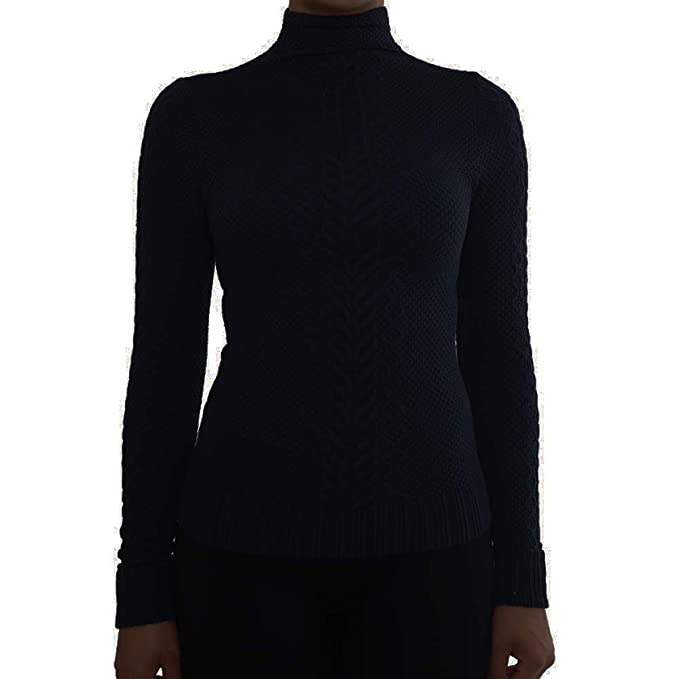 fd8612021c1119 TD Collections Women s Long Sleeve One Size Mock Turtleneck Top (Black -  Not Fleece) at Amazon Women s Clothing store