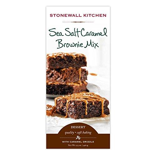 (Stonewall Kitchen Sea Salt Caramel Brownie Mix, 17.5 oz)