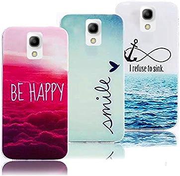 3x Fundas Galaxy S4 Mini, Carcasa Galaxy S4 Mini Silicona Gel: Amazon.es: Electrónica