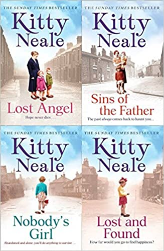 Kitty Neale 4 Book Set Lost Angel Sins Of The Father Nobodys Girl