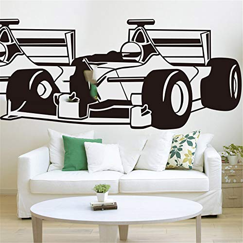 nimnae Peel and Stick Removable Wall Stickers Cool Racing Car Boy Room Rc Sport car Children Room Ford Focus Chevrolet ECOSPORT CAR]()