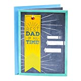 Hallmark Father's Day Greeting Card (Best Dad of All Time Ribbon)