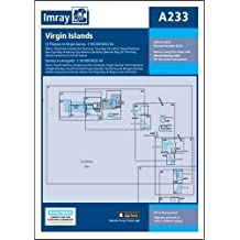 Imray Chart A233: Virgin Islands - Double-Sided Sheet Combining Charts A231 and A232