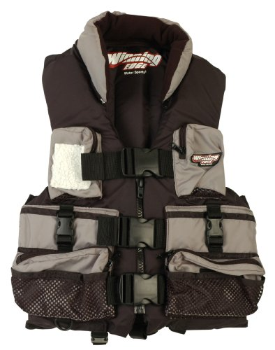 Winning Edge Deluxe Fishing Life Vest, Large (43-46″ Chest), Outdoor Stuffs