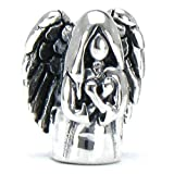 Authentic BELLA FASCINI Heavenly Guardian Angel Bead Charm - 925 Sterling Silver - Fits European Bracelet