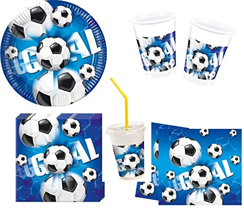 Mgs33 Super Kit Fútbol Goal Supporters 49 Piezas Cumpleaños ...