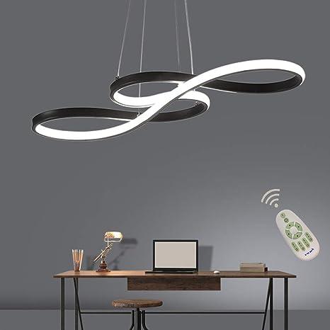Lámpara LED de diseño para mesa de comedor regulable con ...