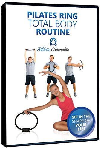 Pilates Ring & Training Video: Resistance Ring for Full Body Toning, Sculpting & Core Fitness (Men/Women)