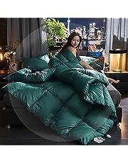 Duvet Double,White Velvet Double Quilt Duvet,Quilts for Queen Bed Clearance Cracker Barrel