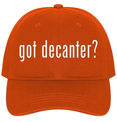 The Town Butler got Decanter? - A Nice Comfortable Adjustable Dad Hat Cap, Orange