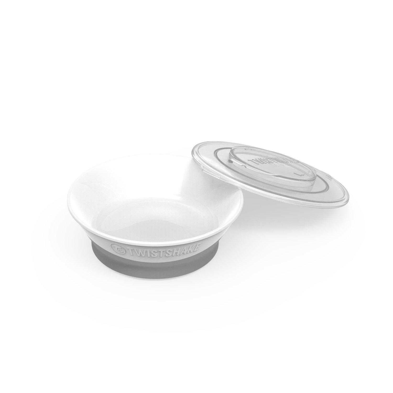 Twistshake Bowl 6+m, White 78157-00