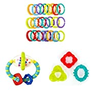 Bright Starts 3 Piece Teether Bundle