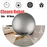 Kanzd induction Smart Robot Vacuum Floor Cleaner Sweeping Suction Sweepers Cleaning Sweeping Robot (Silver)