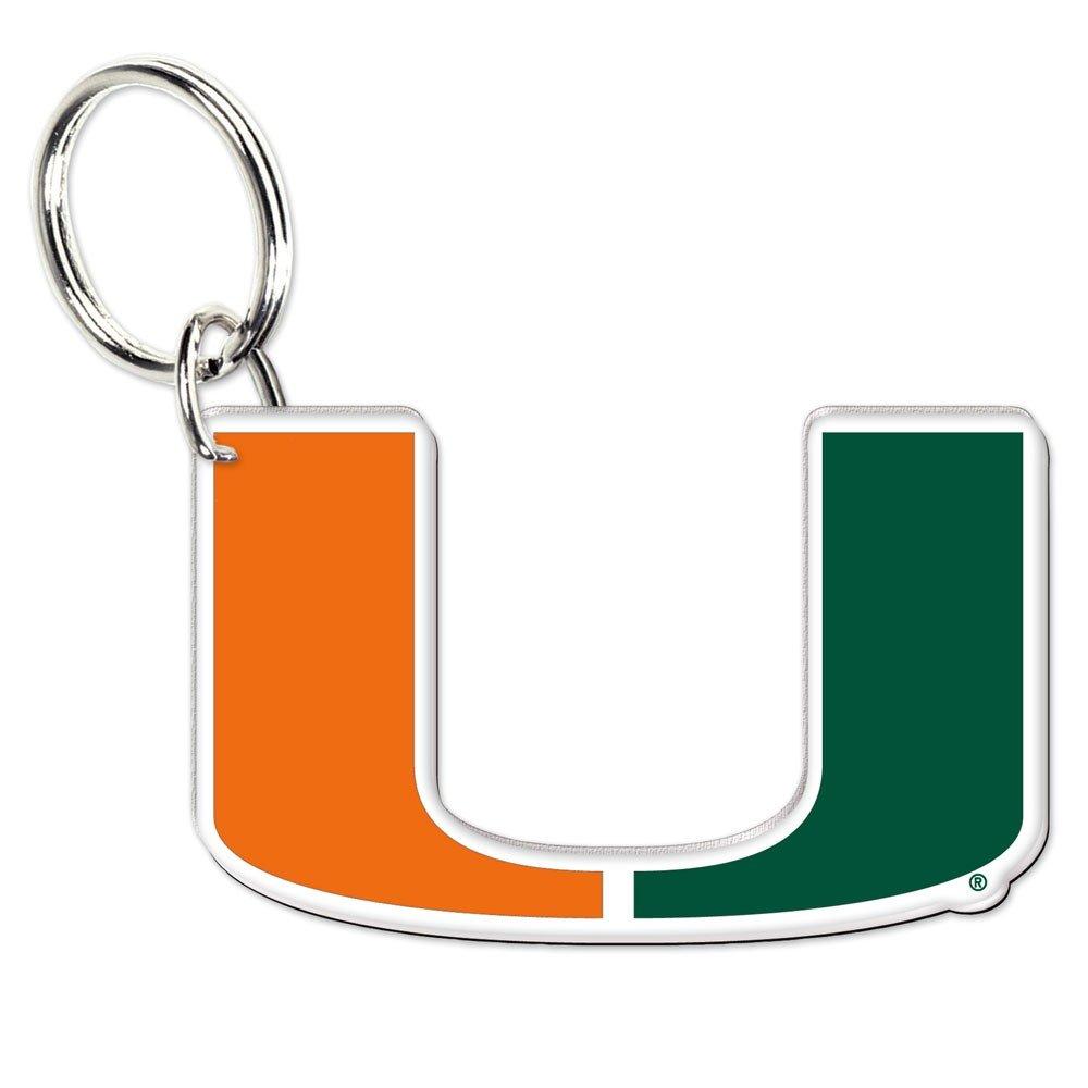 WinCraft NCAA 21005041 University of Miami (Florida) Premium Acrylic Key Ring