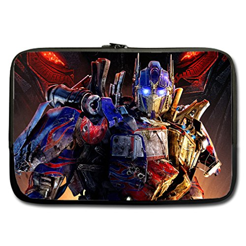 JIUDUIDODO Custom Transformers Water Resistant Neoprene Computer Bag Sleeve for Laptop 15