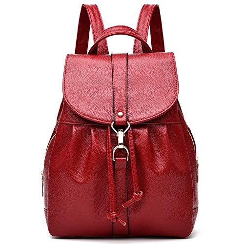 épaule Élégant Sac à PU wine dos Sac Femme Mode Red main Sac Messenger à L029 gqRwBPX