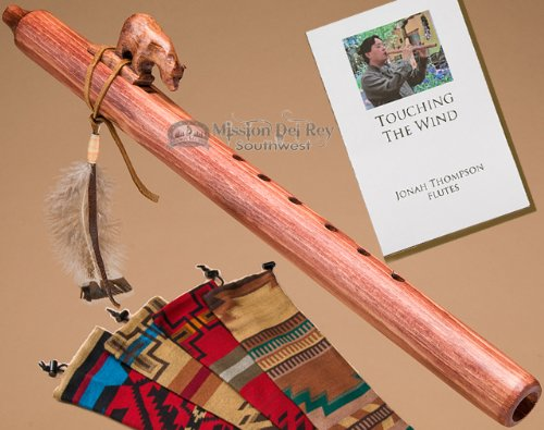 Jonah Thompson Flute -Walnut Bear Pack by Jonah Thompson Flutes