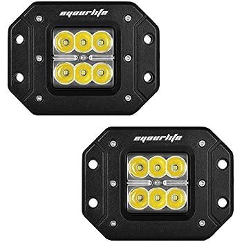 flush mount led lights 12v menards spot work light bar driving fog pods boat truck jeep bumper ceiling home depot