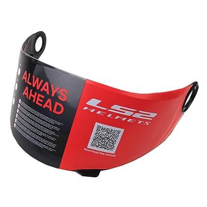 Clear Anti-fog LS2 Visera Para FF392 FF396 FF385 FF358 Visera de casco