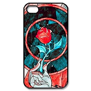 diy zheng Ipod Touch 5 5th /Covers Hard Back Protective-Cute Best Red Rose Flower Design Case Perfect as Christmas gift(2)