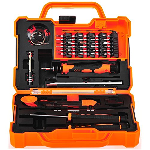 EEEKit Precision 45 in 1 Screwdriver Set Repair Maintenance Kit Tools for iPhone, iPad, Samsung Cell Phone,Tablet PC, Laptop,Computer and other Electronic Devices (45 in 1) by EEEKit (Image #1)